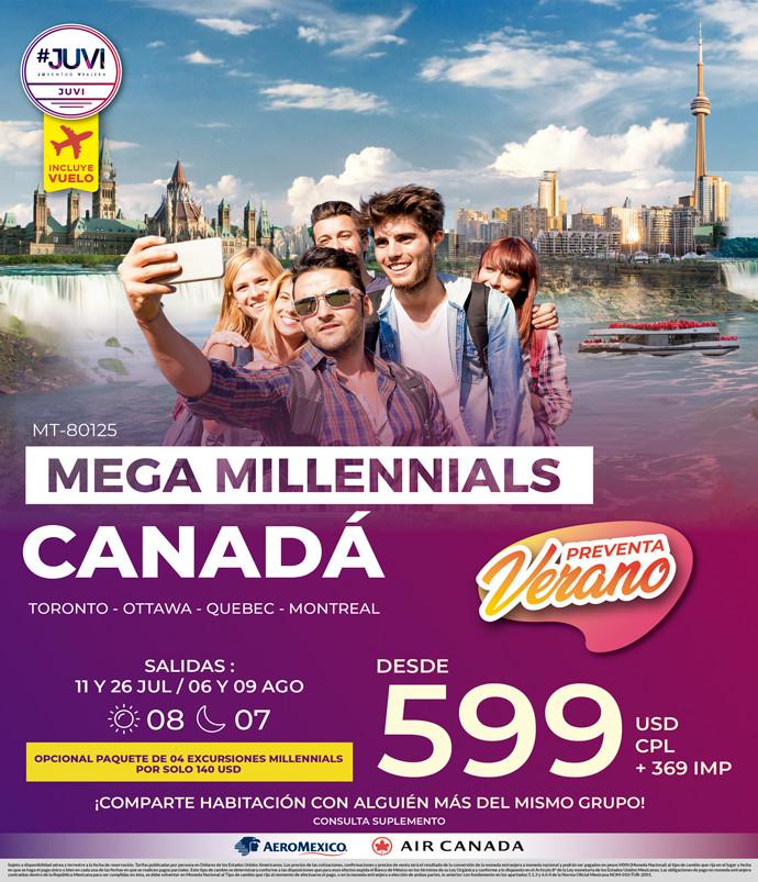 mega Millenials Canadá
