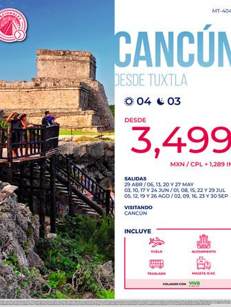 Cancún desde Tuxtla