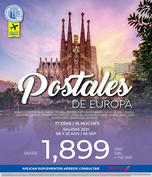 POSTALES DE EUROPA