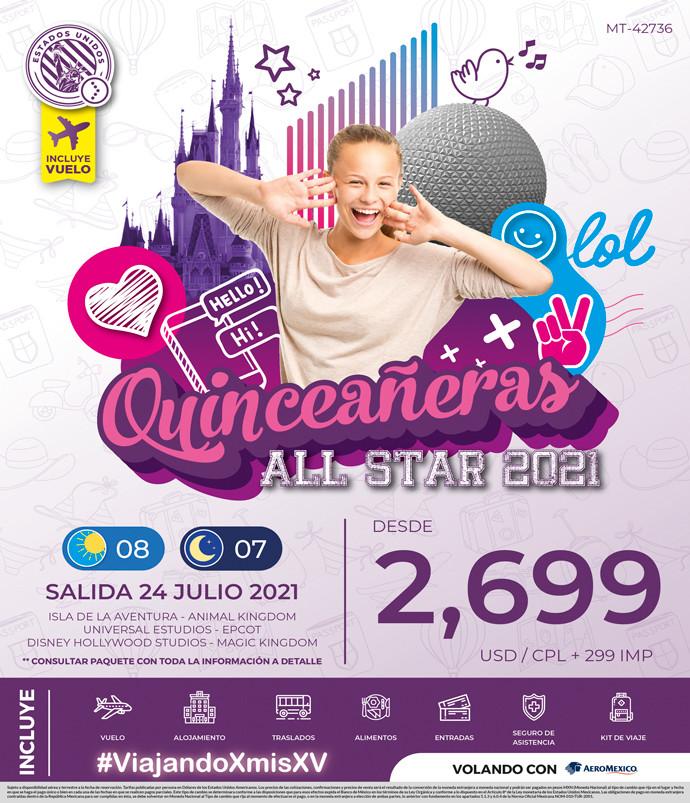 Quinceañeras All Star 2021