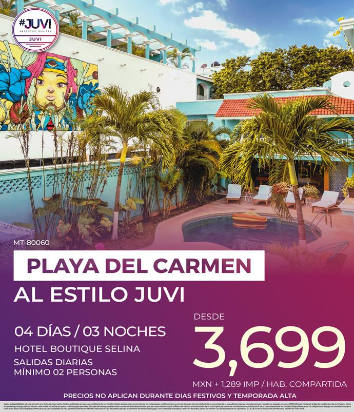 Playa del Carmen al Estilo Juvi