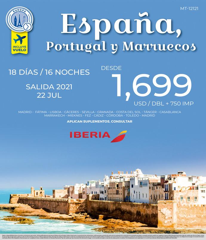 ESPAÑA, PORTUGAL Y MARRUECOS