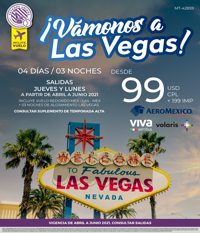 Vámonos a Las Vegas