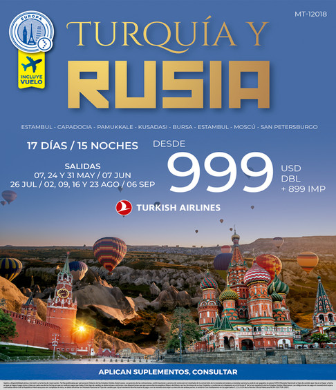 TURQUIA Y RUSIA