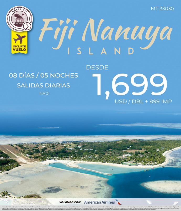 Fiji Nanuya Island