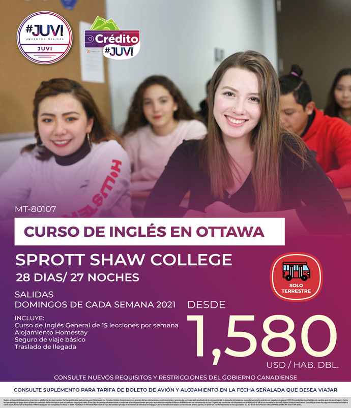 Curso de Inglés en Ottawa