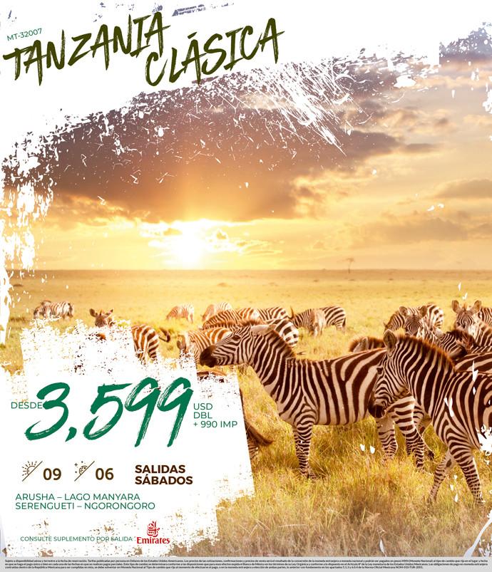 Tanzania Clásica