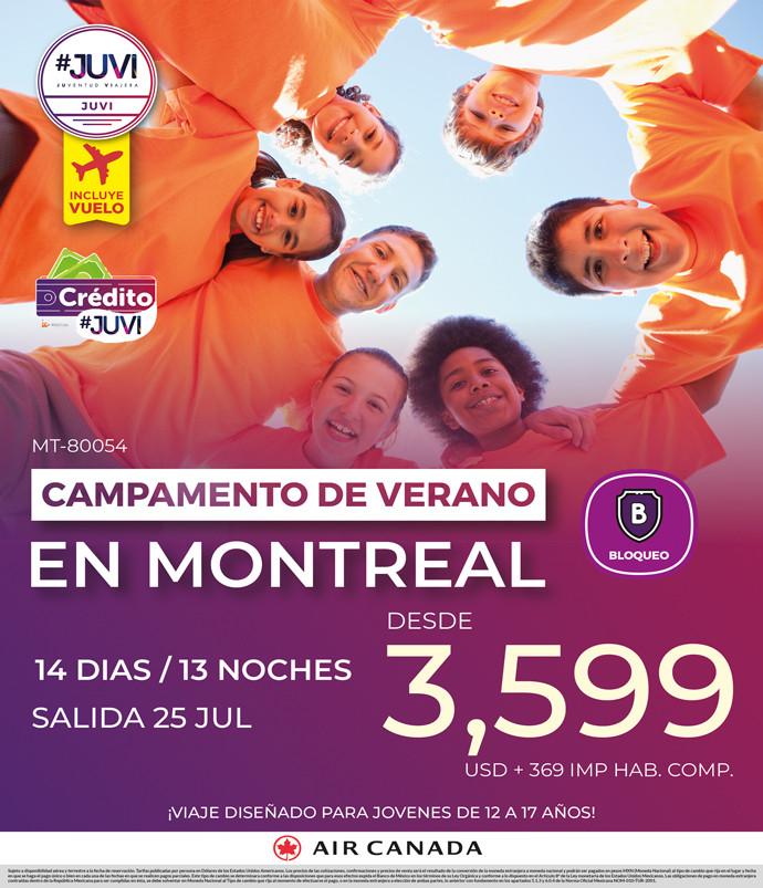 Campamento de Verano en Montreal
