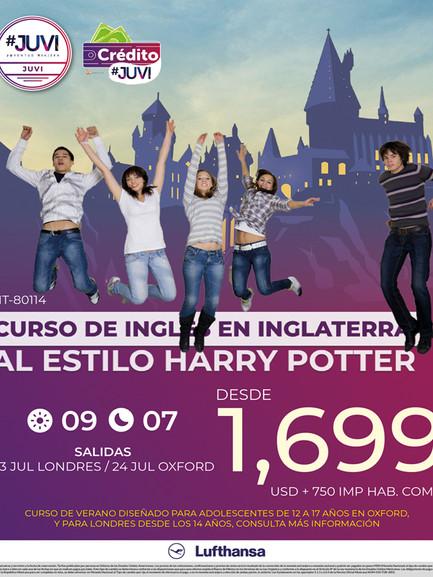 Curso de inglés en Inglaterra al estilo Harry Potter