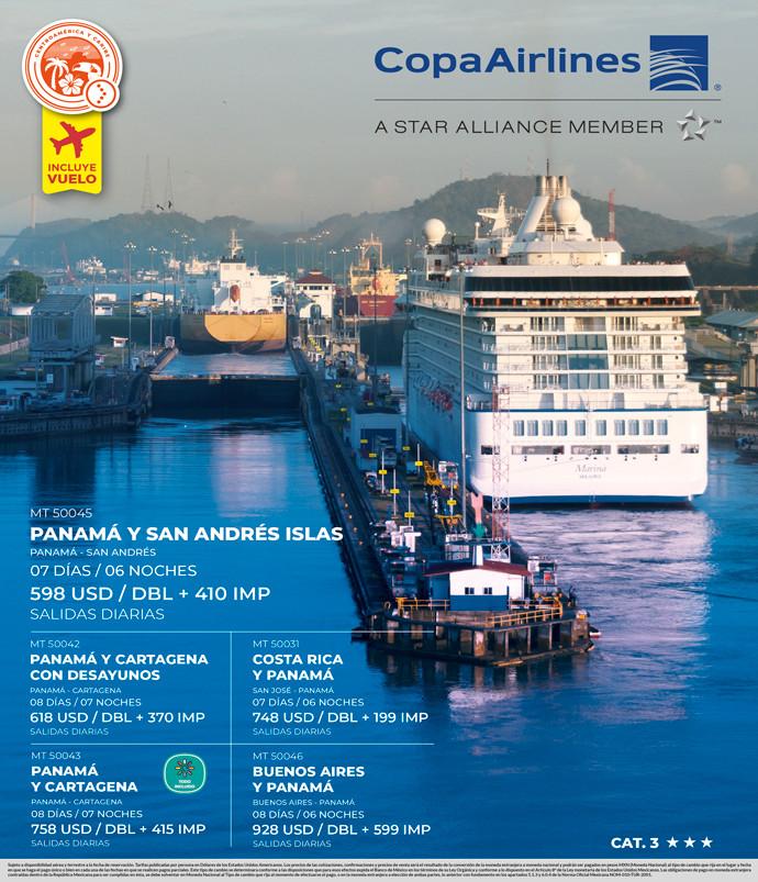 Panamá y San Andrés