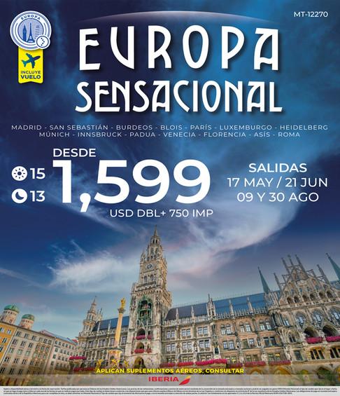 EUROPA SENSACIONAL
