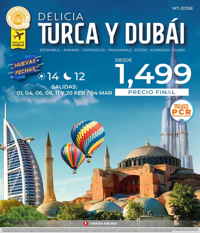 Delicia Turca y Dubái