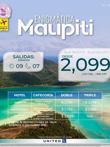 Enigmática Maupiti