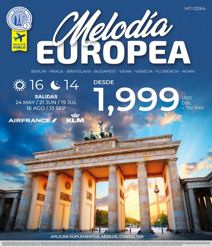 MELODÍA EUROPEA