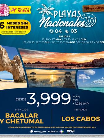 Playas Nacionales