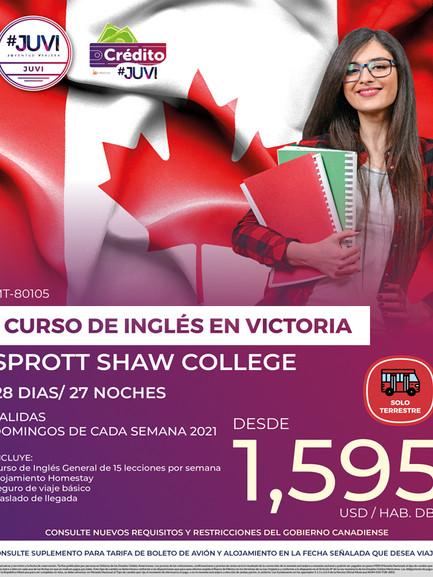 Curso de Inglés en Victoria