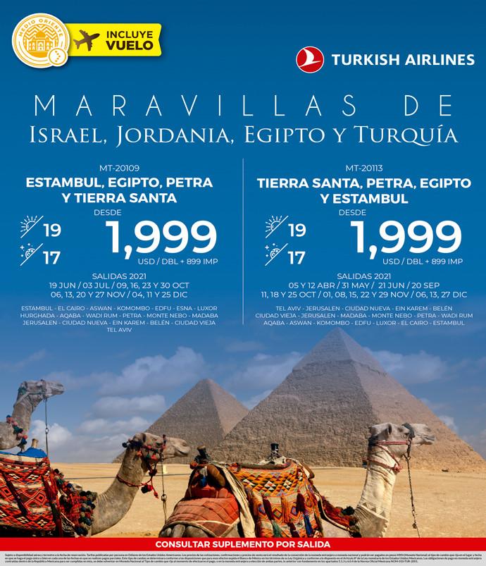 Maravillas de Israel, Jordania, Egipto y Turquía