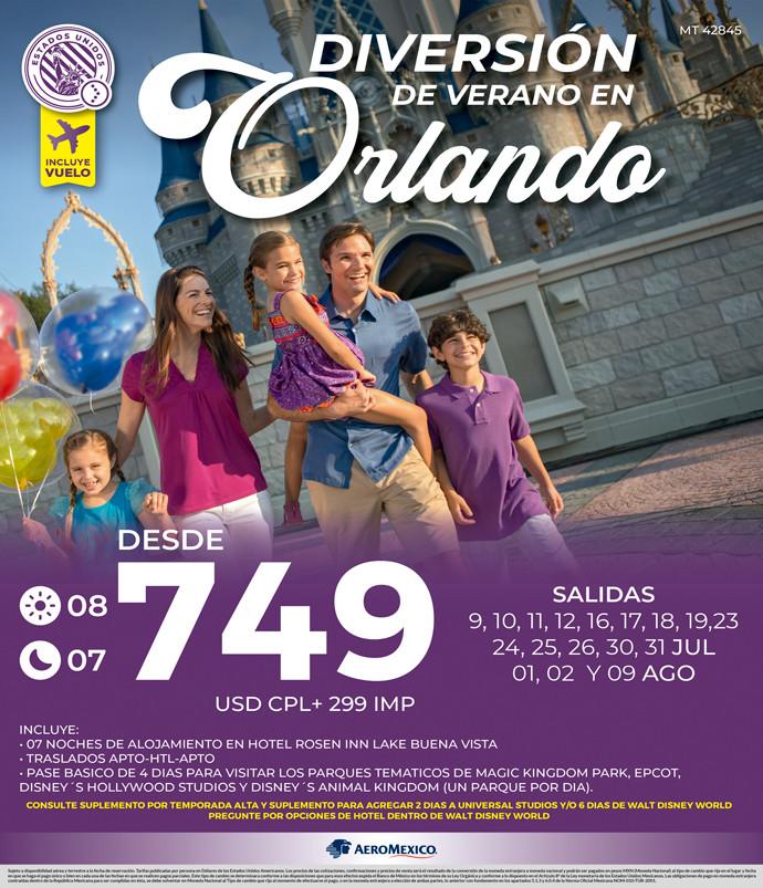 Diversión de Verano en Orlando