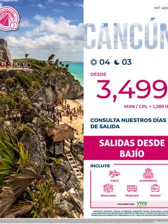 Cancún desde Bajío