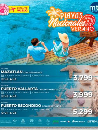 Playas Nacionales Verano