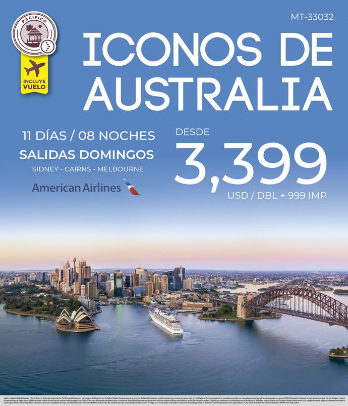 Iconos de Australia