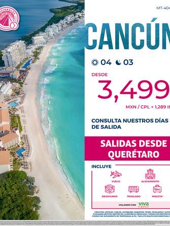 Cancún desde Querétaro