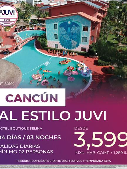 Cancún al estilo Juvi
