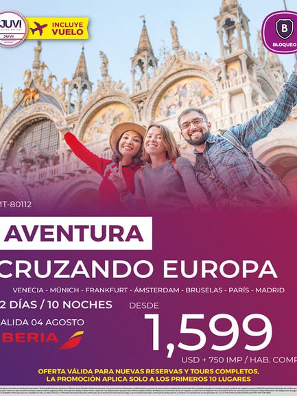 Aventura Cruzando Europa