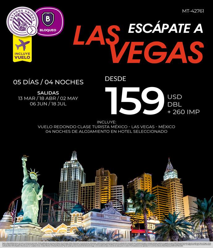 Escápate a Las Vegas