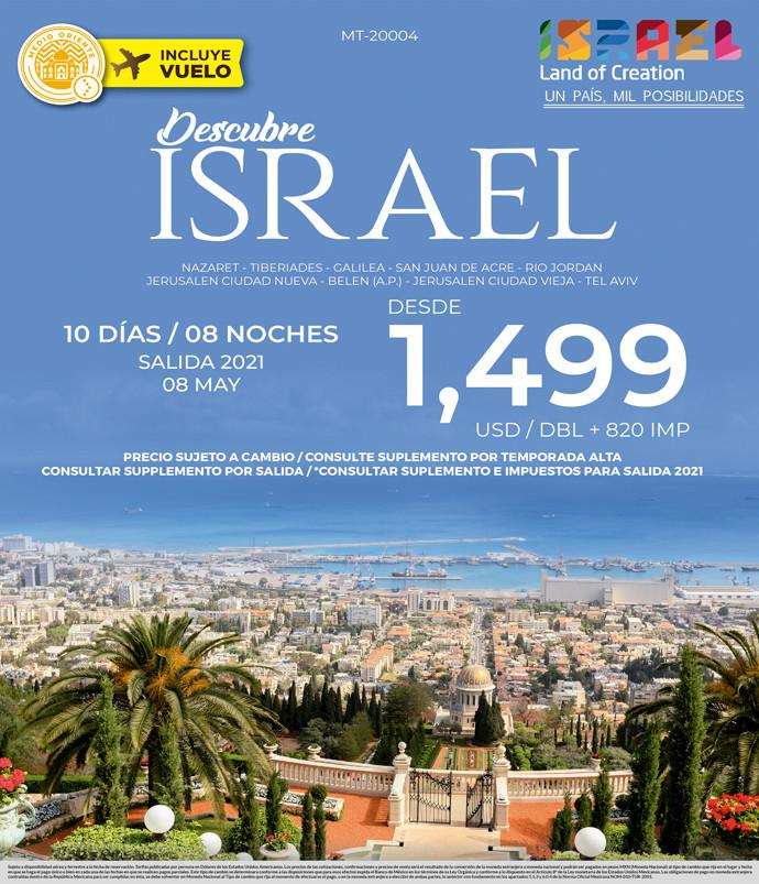 Descubre Israel