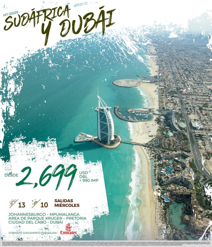 Sudáfrica y Dubái