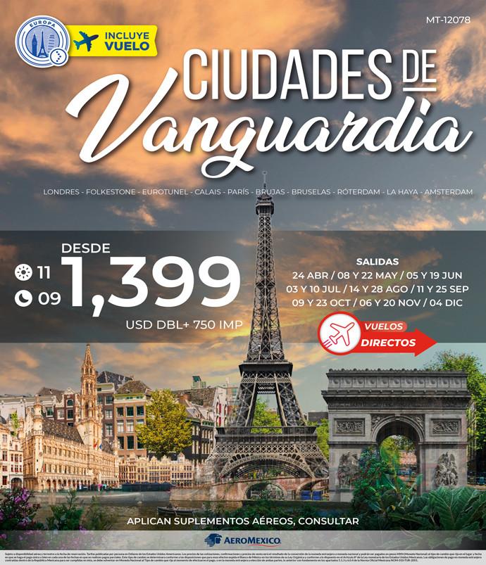CIUDADES DE VANGUARDIA