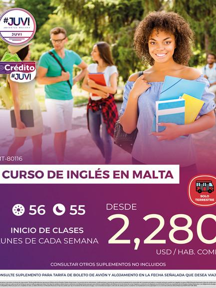 Curso de Inglés en Malta