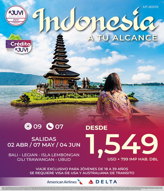 Indonesia a tu alcance
