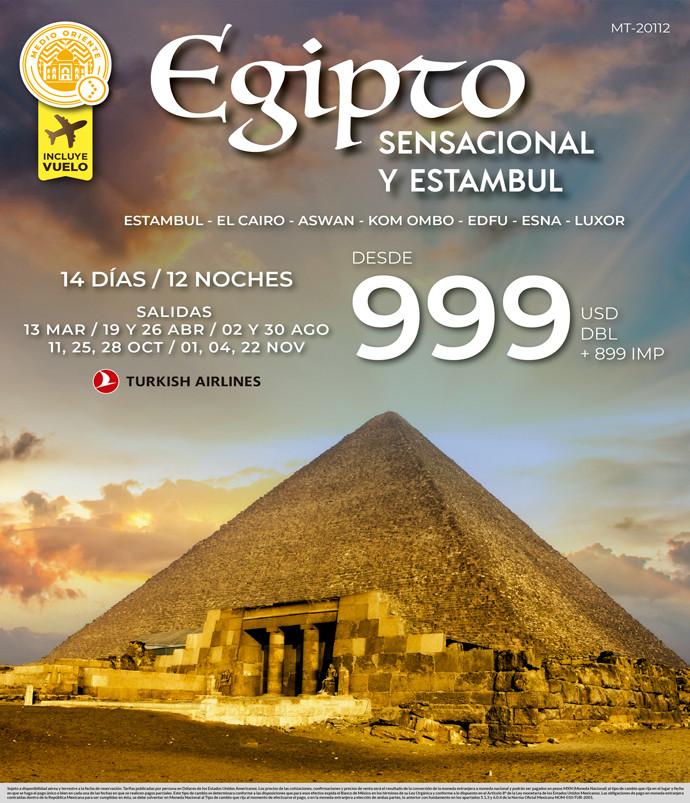 Egipto Sensacional y Estambul