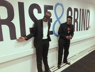 Justifeyed Pitches At Rise And Grind