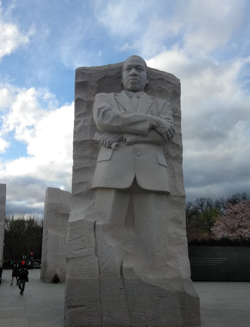 The MLK Statue in D.C