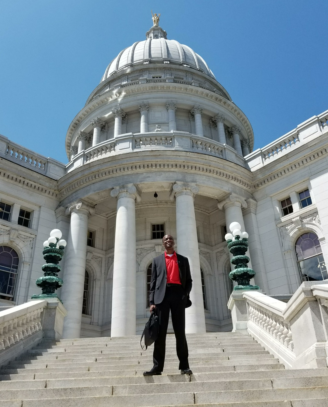 Visiting the Capital of Wisconsin