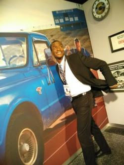 Visiting General Motors Headquarters