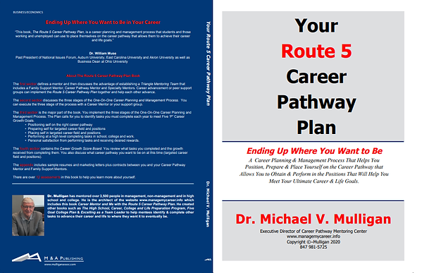 Route 5 Career Pathway Plan book cover.p