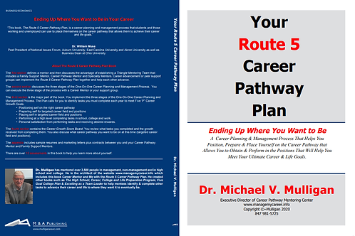 The Route 5 Career Pathway Plan