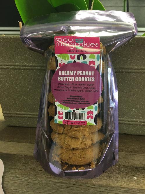 Creamy Peanut Butter Cookies