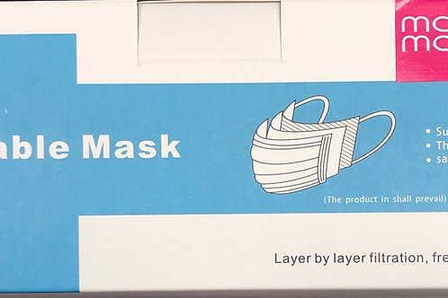 Flat Mask - 50 masks per box
