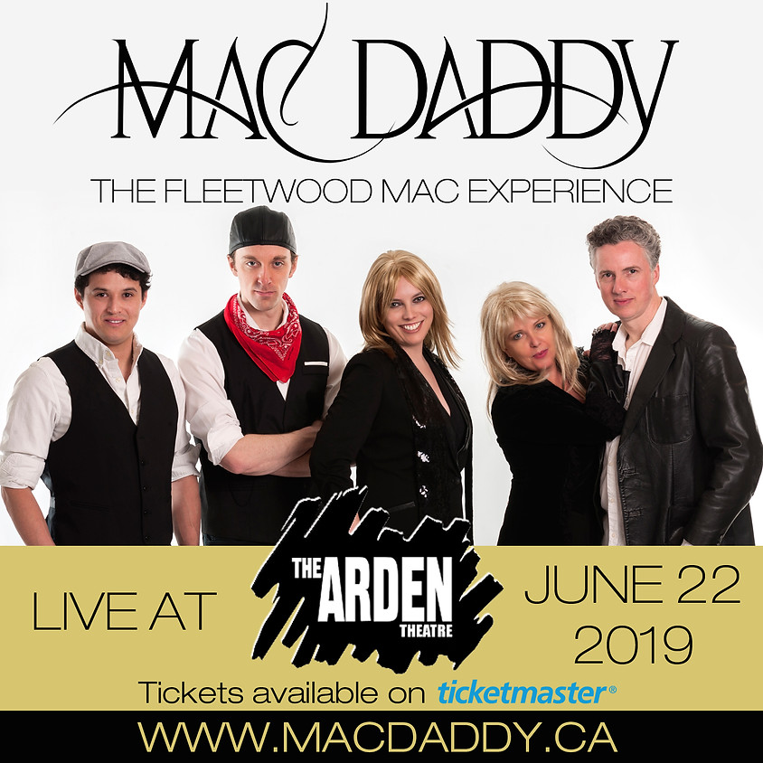 MAC DADDY Live at the Arden Theatre