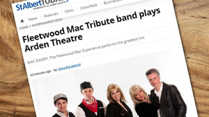 Fleetwood Mac Tribute band plays Arden Theatre