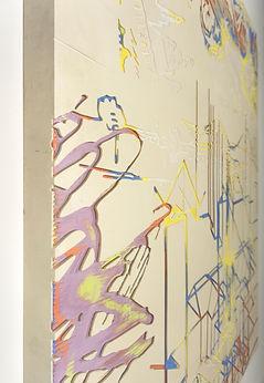clarence guena artiste peintre français peinture valencia paris art contemporain figuratif figuration CNC