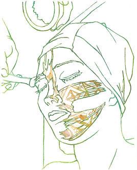 clarence guena artiste peintre français peinture valencia paris art contemporain figuratif figuration dessin contemporain french artist painter