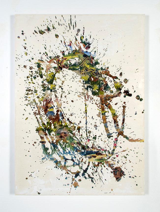 clarence guena artiste peintre français peinture valencia paris art contemporain figuratif figuration french artist painter canevas art
