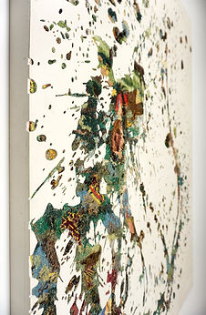 clarence guena artiste peintre français peinture valencia paris art contemporain figuratif figuration canevas art