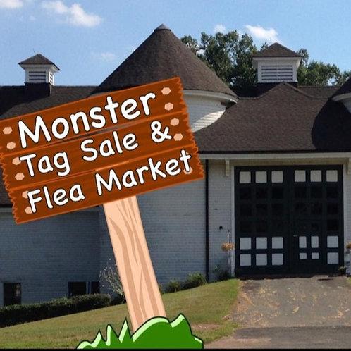 Tag Sale & Flea Market 12' x 12' Space(s)